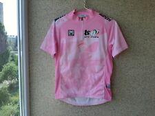 Giro D'italia Sms Santini Cycling Shirt Pink Jersey 2000/05 Camiseta Italia OLD