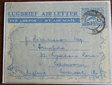 South Africa – 1940s Airletter H&G 15 – Fine Used – (Se3)
