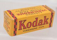 Rare Sealed Kodak Verichrome Pan V 127 Camera Roll Film 8 exp. 04/1943 WWII Era