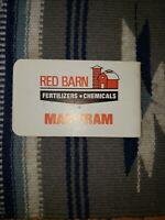 RED BARN Fertilizers Chemicals MAC-TRAM Advertising Note Book Z2