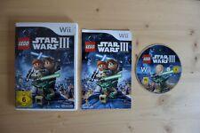 Wii-LEGO STAR WARS III 3: the Clone Wars - (scatola originale, con istruzioni)