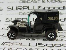 Hot Wheels 1:64 LOOSE 1993 Vintage Collection Dark Brown PADDY WAGON Police Car