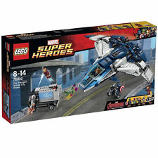 Complete LEGO Marvel Super Heroes The Avengers Quinjet City Chase (76032)