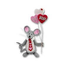 Merry Mouse Sweetheart Boy Figurine for Valentine's Day ~ Great Gift Idea!