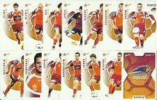 A LEAGUE 2008/09 SELECT BRISBANE ROAR FC COMMON TEAM SET 14 CARDS HYUNDI