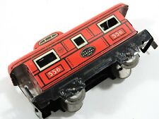 Vintage Marx Tin O Scale Caboose Car 556 New York Central Lines Model Train RR
