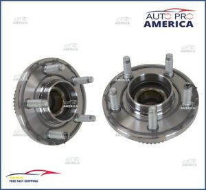 (2) NEW OEM 98-02 Grand Marquis Crown Victoria Town Car Front Wheel Hub Bearing