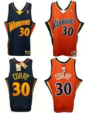 Steph Curry 2009-10 Warriors Mens XL-2XL-3XL-4XL-5XL Mitchell & Ness Jersey