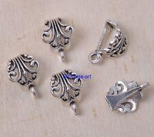10pcs Tibetan silver Connectors Bail Beads For Pendant Fit Charm necklace
