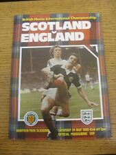 24/05/1980 Scotland v England [At Wembley] .  Thanks for taking the time to view
