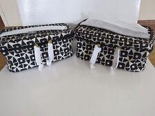 2 x NEW Estee Lauder Cosmetic Case Makeup Travel Toiletry Bag