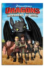 Dragons Defenders Of Berk Grande Maxi Póster Nuevo - Laminado Disponibles