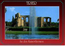 Postkarte Trier Fotokunst Schwalbe: 2/7 An den Kaiserthermen (4. Jh.)