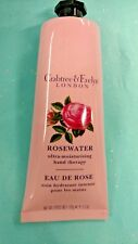 Crabtree & Evelyn ROSEWATER Ultra-Moisturizing Hydrating Dry Hand Therapy 3.5oz