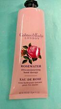 Crabtree & Evelyn AGUA DE ROSAS ultra-moisturizing Hidratante Seco Mano Terapia