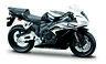 Honda CBR 1000 RR chwarz-weiß 1:18 von maisto Motorrad Modell