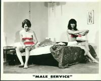 "Risque ""Male Service""  2 Nudes Movie Still Marked For Publication"
