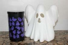 Yankee Candle Halloween Ghost Multi Tea Light holder & Haunted Hayride Pillar~