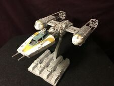 Bandai Star Wars Y-Wing Starfighter Model 1/72 Scale - FULLY BUILT & PAINTED