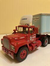 First Gear 1/34 R-600 Mack Mason Dixon Semi Truck