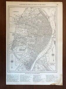 1927 St. Louis, MO Map, New World Atlas and Gazetteer