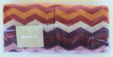 MISSONI HOME TWO HAND TOWELS SET CHEVRONS COLLECTION  PETE 159 COTTON VELOUR