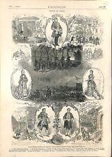Joseph Balsamo Roman Alexandre Dumas Père Fils à l'Odéon Paris 1878 ILLUSTRATION