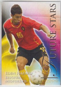 Futera 2010 Future Stars Eden Hazard Belgium Rookie