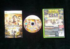 JEU Microsoft XBOX 360 : WWE LEGENDS OF WRESTLEMANIA (complet, envoi suivi)