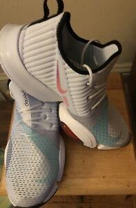 New Nike Wmns Air Zoom SuperRep Shoes Grey Flash Crimson Black BQ7043-020  Sz 12