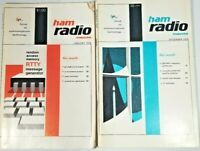 Ham Radio Magazine December 1974 and January 1975