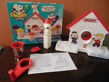 Vintage Snoopy and Friends Sno-Cone Machine_Habro_Complete_Peanuts_1999