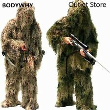Camouflage Suits 3DWoodland Clothes Hunting Military Tactical Sniper Ghillie Set