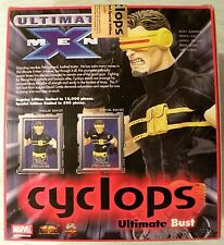 X-Men Cyclops Special Edition Ultimate Bust Mint Condition Unopened
