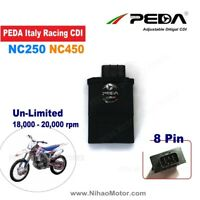 Racing CDI Box 8Pin NC250 NC450 Zongshen DC 20000rpm Unlimited Ignition igniter