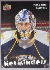 2009-10 Upper Deck Netminders #NET9 Pekka Rinne Nashville Predators