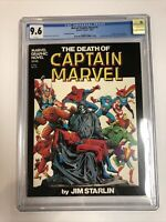 Marvel Graphic Novel The Death Of Captain Marvel (1982) # 1 (CGC 9.6) |7th Print