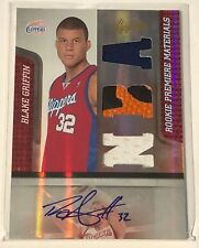 2010-11 Panini Absolute BLAKE GRIFFIN Patch Auto RC Premier Materials 493/499