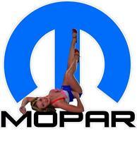 Mopar Pinup Girl Vinyl Decal Sticker Car Truck Ram Charger Classic Dodge