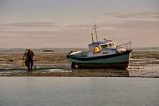 Fishing Boat Thorpe Bay Beach Southend on Sea Essex England Photograph Picture