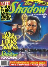Souvenir-Magazin USA 1994 | THE SHADOW | Alec Baldwin, Ann Miller