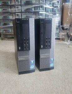 Lot of 2 Dell OptiPlex 790 Intel i5 Quad SFF/ Windows 10 /4GB/ WiFi PC