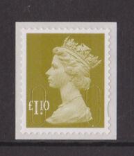 GB MNH MACHIN DEFINITIVE SG U2950 (ex U2935) £1.65 GREY-OLIVE MAIL M11L 2011