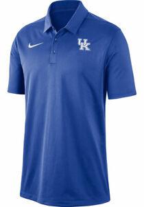 Nike Kentucky Wildcats Mens Blue Dri-FIT Franchise Short Sleeve Polo