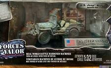 """Forces of Valor JEEP WILLYS """"Normandie 1944"""" DIE CAST MODEL 1:32"""