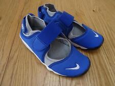 Nike Rift Older Boys bleu gris été Baskets Chaussures UK 2.5 EU 35 Authentique