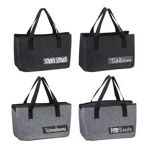 Einkaufstasche Filz Filztasche Spruch Shopper Geschenk Geschenkidee Tasche Bag