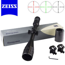 ZEISS Conquest Rifle Scope 4-16x50AO Hunting Reticle Illuminated R&G 20mm Mount