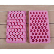DIY 55 Silicone Heart Shape Cake Mold Baking Mould Chocolate Decoration NT5