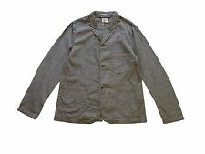 Edwin Rail Jacket, Grey Chambray, Black Rinsed, M *special offer/rare*